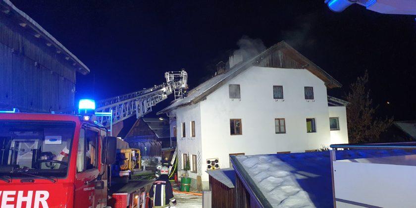 Brand Mehrfamilienhaus Ötzbruck