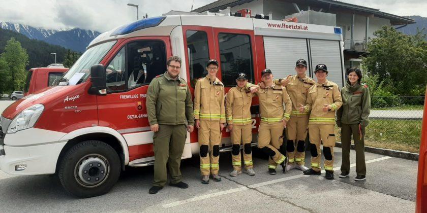 Wissenstest Feuerwehrjugend in Imst